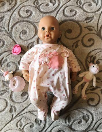 Интерактивная кукла пупс лялька Анабель оригинал Германия мимика