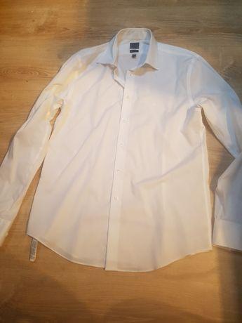 Koszula Calvin Klein męska biała