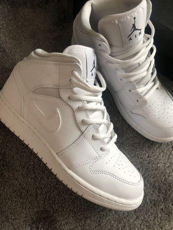 Białe Nike Jordan
