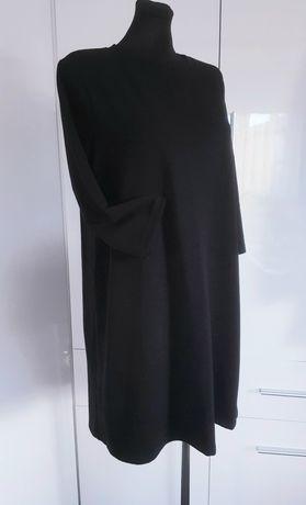 Sukienka ZARA S czarna ciepła jak nowa