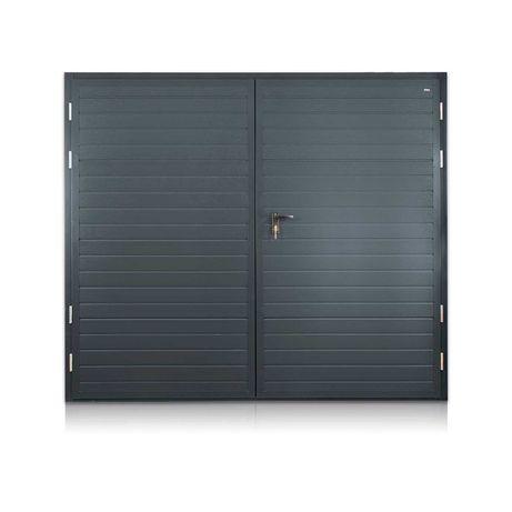 Bramy Brama Garażowa STALOWA z panelem ocieplana NOWOŚĆ