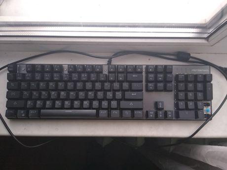 Клавиатура механическая motospeed  blue с подсветкой.