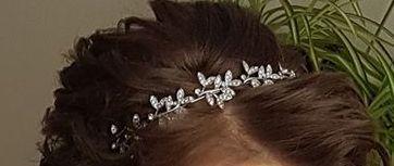 Opaska do włosów diadem