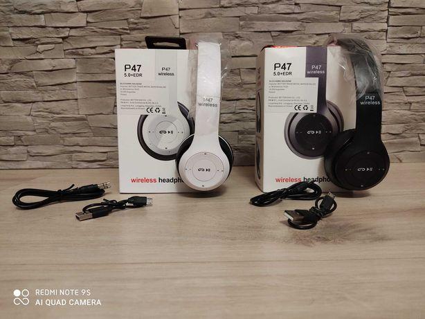 Nowe Bezprzewodowe Słuchawki Bluetooth