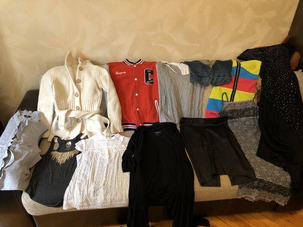 Пакет брендовых женских вещей zara diesel