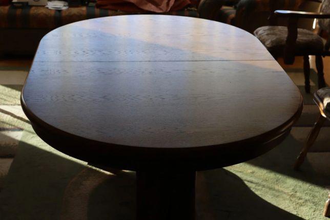 Stół dębowy Swarzędz rozkładany