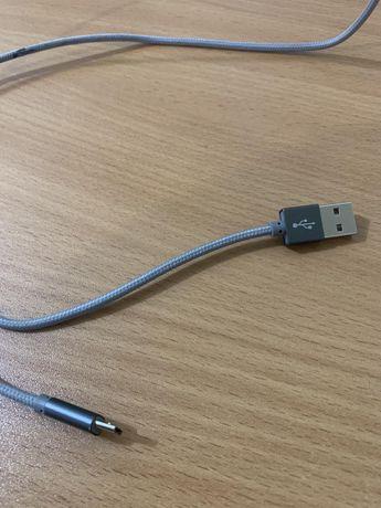 Кабель для зарядки телефона. Зарядное . USB . usb