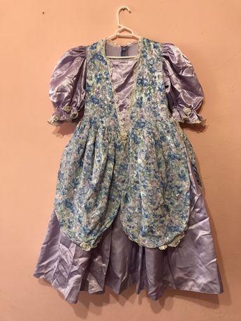 шикарное, пышное платье для девочки 10 лет, пишне плаття
