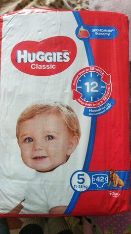 Памперсы подгузники Huggies classic 5