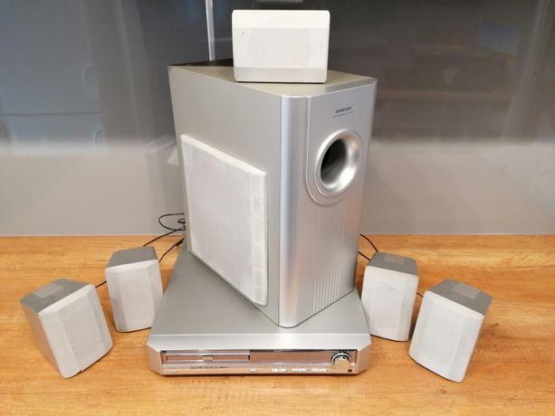 amplituner kino domowe zestaw kpl 5.1 dvd dr 1030 plus głośniki