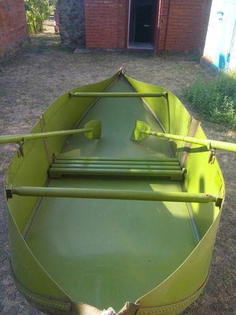 Продам лодку складную из алюминия