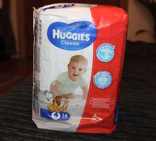 Подгузники Huggies Classic 4 7-18 кг 14 шт