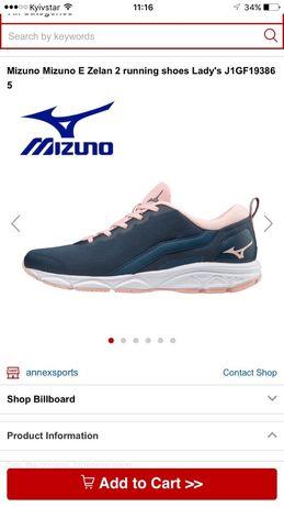 Фірмені нові Mizuno 40 розмір дуже легкі та зручні.