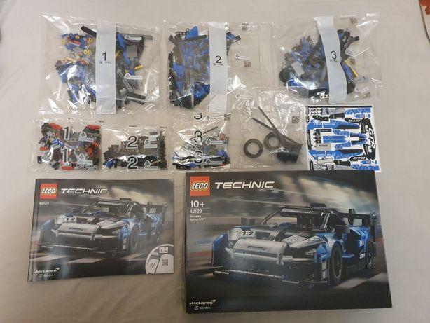 Nowe klocki Lego Technic 42123 McLaren Senna GTR auto okazja promocja