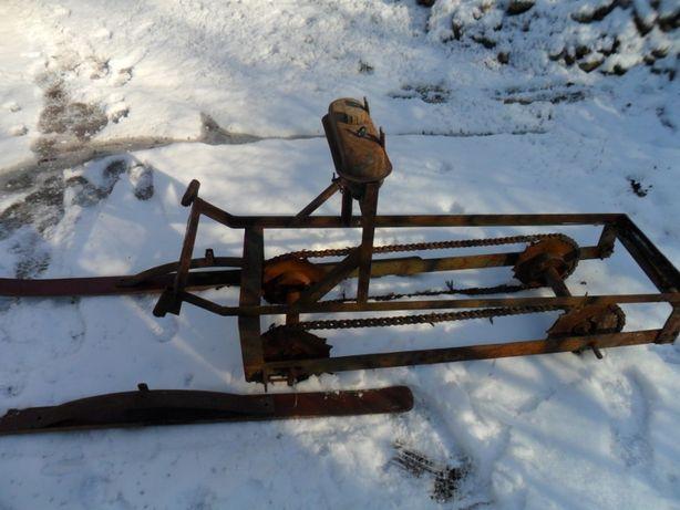 снігохід саморобний