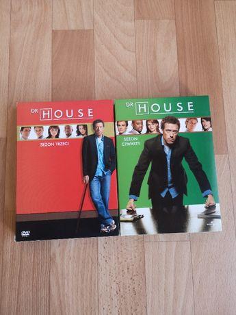 Dr House DVD sezon 3-4