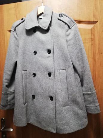 Płaszcz wełniany Zara 34