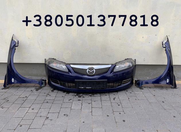 Mazda 6 бампер фара крыло мазда крило Разборка