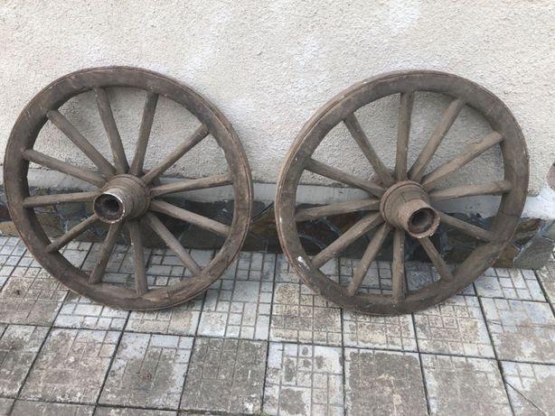 Декоративні колеса для воза