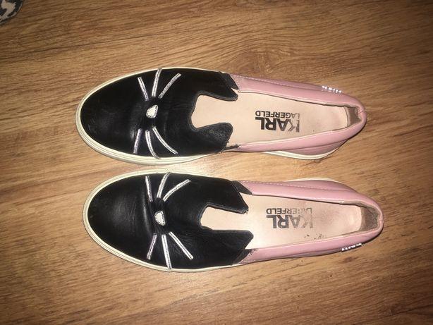 Karl Lagerfeld Sneakersy / czapka/ koty