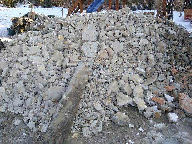 Oddam za darmo czysty gruz betonowy. PILNE!!!
