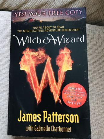 Witch wizard James Patterson