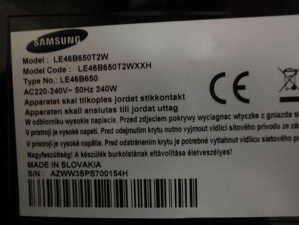 Płyta zasilająca do tv Samsung 46cali