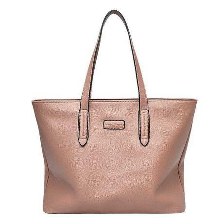 Женская кожаная сумка шопер