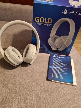 Sony gold headset PS4;/pc
