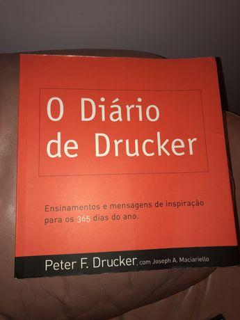 """Livro """"O Diário de Drucker"""""""