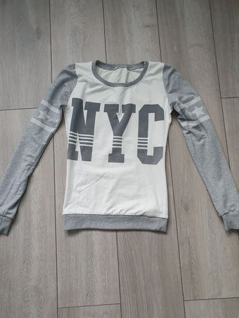 Bluza dresowa  bluzka xs