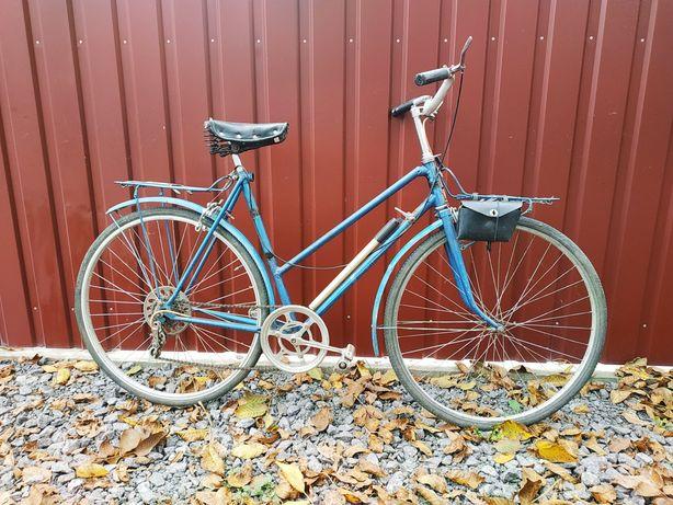"""Велосипед с низкой рамой Турист ХВЗ , 28"""" колёса. Сделано в СССР."""