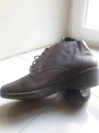 Женские кожаные  ботинки 40р.
