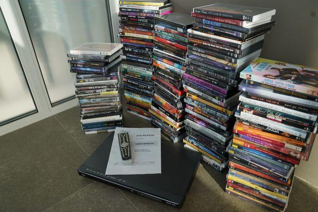 175 + лицензионных DVD диска + DVD плеер OPPO DV - 981 HD