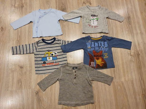 Bluzeczki dla chłopca roz. 68