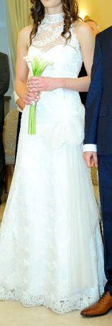 Suknia ślubna Cymbeline koronka