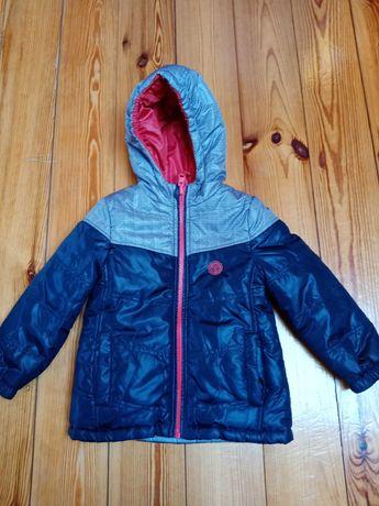 Sprzedam dwustronną kurtke zimową firmy Cocodrillo w rozmiarze 92