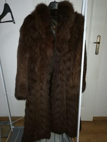 Sprzedam naturalne długie futro z lisa