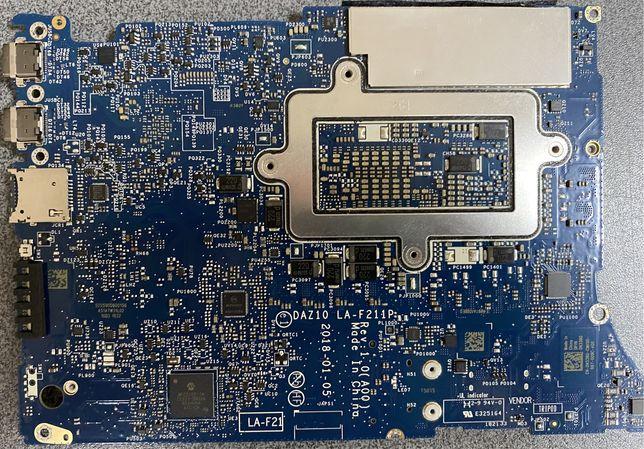 Материнская плата DAZ10 LA-F211P DELL XPS 9575