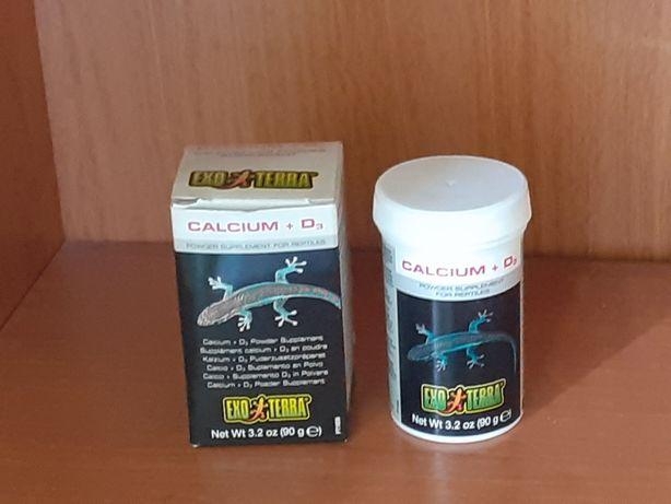 Calcium Wapno dla gadów z witaminą D3.