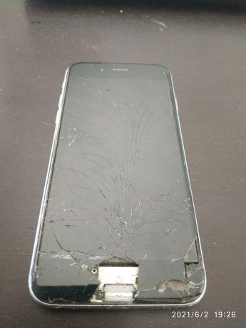 iPhone 7 S visor partido