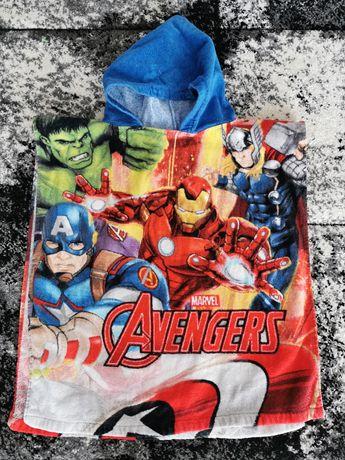 Ponczo dla chłopca avengers