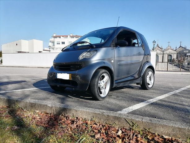 Smart fortwo cdi diesel automático aceito trocas panorâmico ac pele