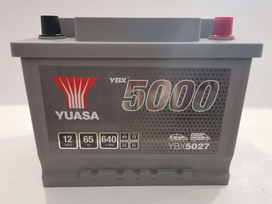 Akumulator YUASA YBX5027 65Ah 640A Promocja!!! Wrocław - image 1