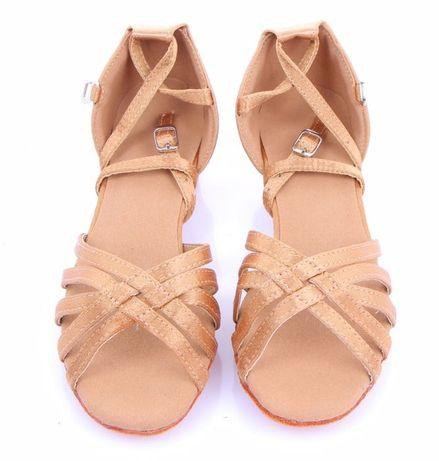 туфли для бальных танцев новые 19.5, 21, 22.5, 23, 23.5см беж