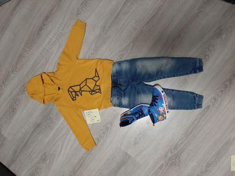Bluza chłopiec BDB STAN r 92-98