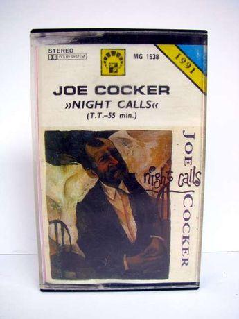 Kaseta magnetofonowa Joe Cocker - Night Calls 91' kasety magnetofonowe