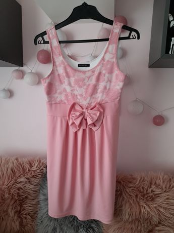 Sukienka z kokardą S/M