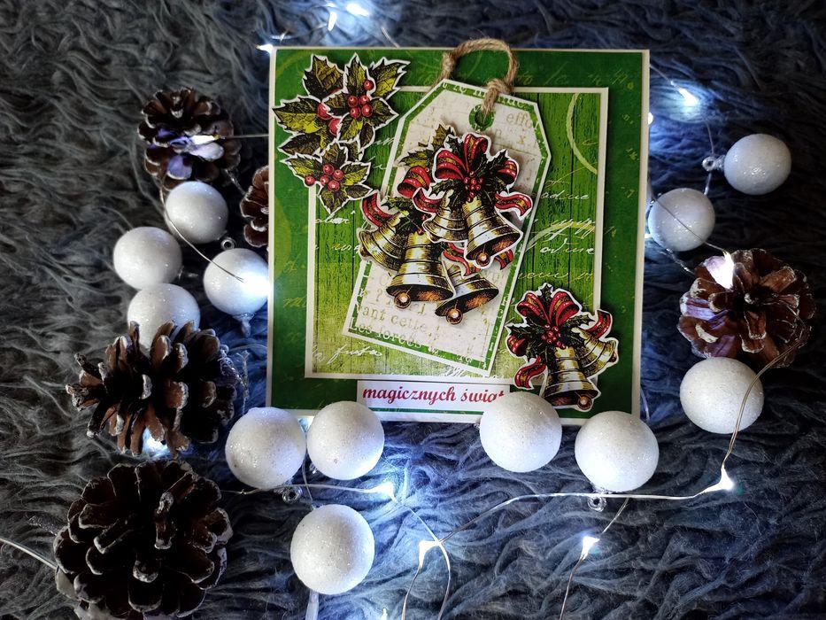 Kartka bożonarodzeniowa świąteczna handmade piękna Grudziądz - image 1