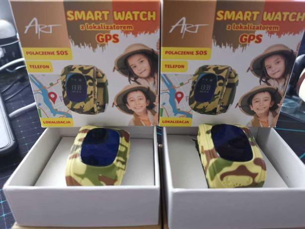 2x smartwatch dla dzieci z lokalizatorem GPS SIM SOS